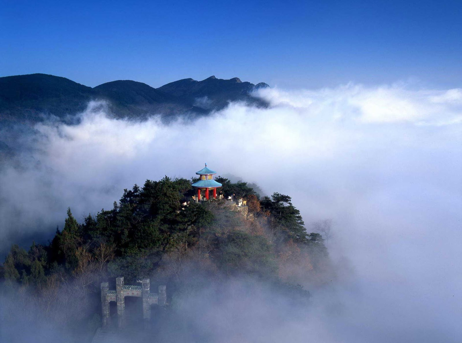 Lushan National Park China